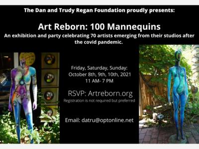 Art Reborn: 100 Mannequins Exhibition and Celebration